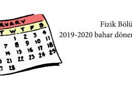 2020 fzk bölümü ders programı