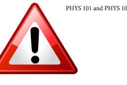 PHYS 101 ve PHYS 102 Laboratories will start
